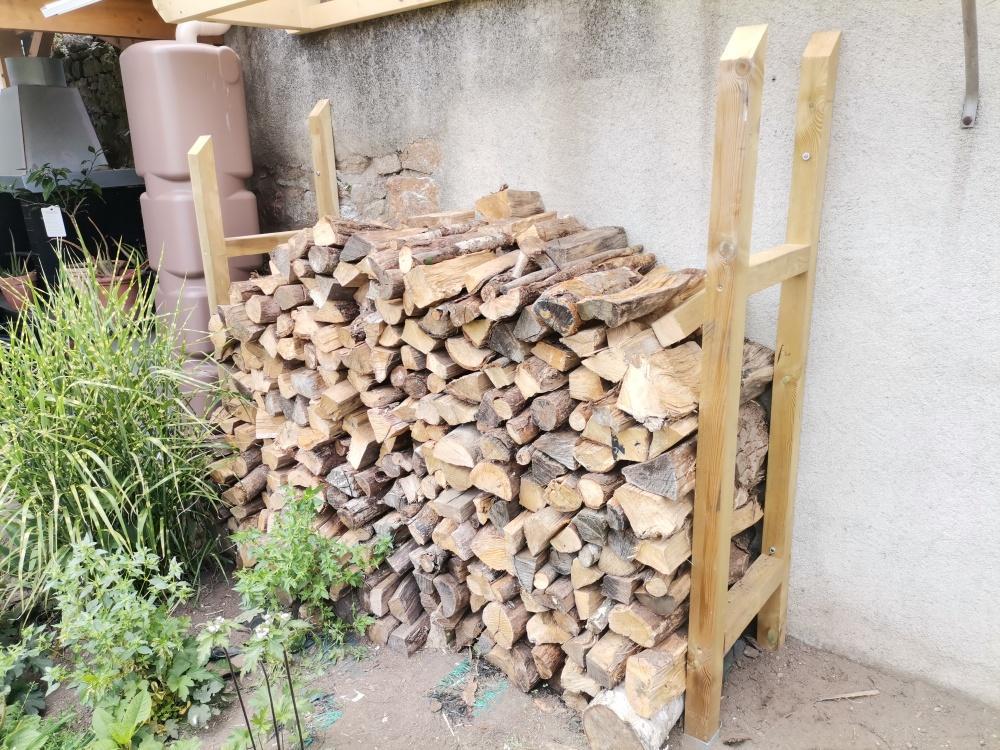 Création d'un abri bois